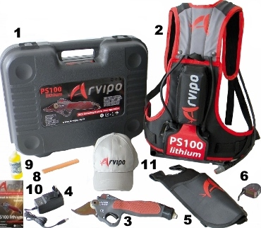 Arvipo PS100 Lithium equipment